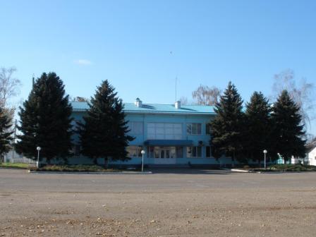 Здание правления колхоза Родина