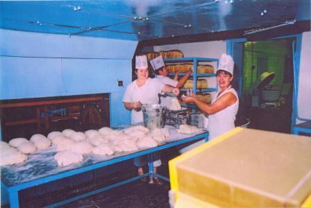 Работники пекарни