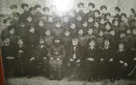 Семинаристы Бескорбненской учительской семинарии 1и2 курс 1914 год